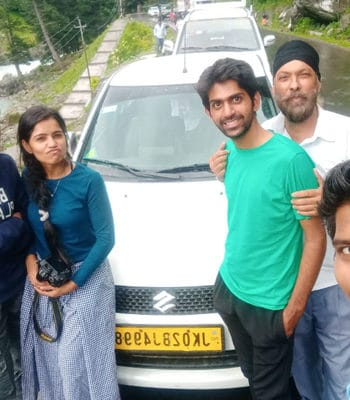 Cab from Jammu
